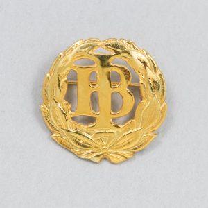 IB-äidinlyyra, kullattua hopeaa