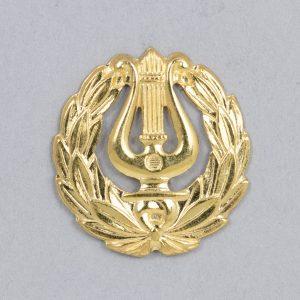 Suomalainen lakkilyyra, 16mm, kultaa